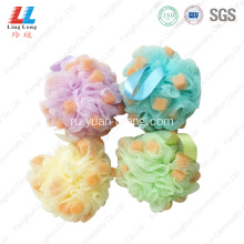 mesh+bath+ball+body+scrubber+for+shower